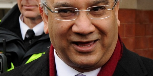 File photo dated 13/12/12 of MP Keith Vaz who is to write to the Metropolitan Police to seek clarification on why the partner of Guardian journalist Glenn Greenwald was held and questioned by officers while travelling through Heathrow.